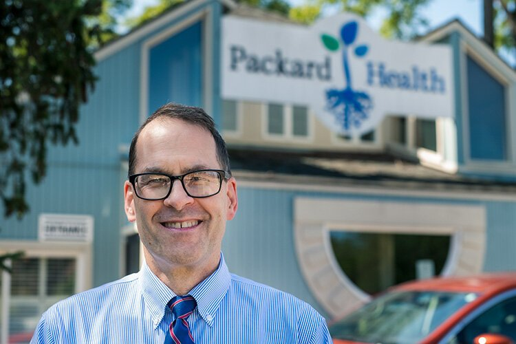 Packard Health executive director Raymond Rion.