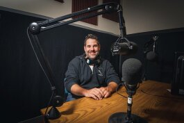 Ann Arbor Stories Podcast host Richard Retyi.