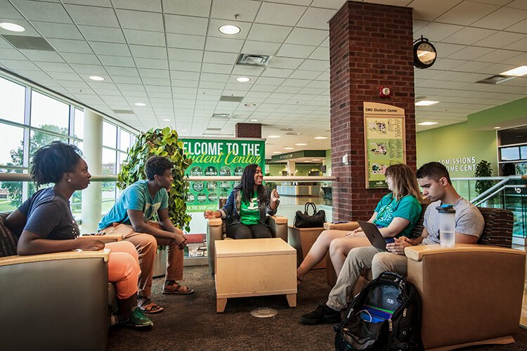 Optimize Eastern meeting at the EMU Student Center.