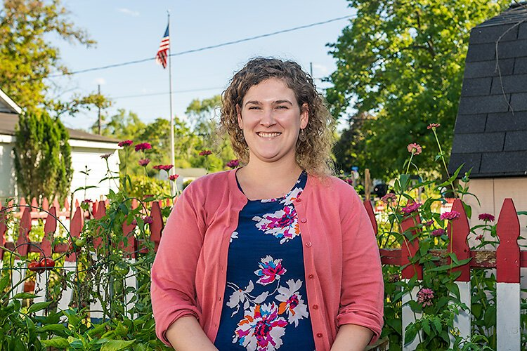 Habitat For Humanity of Huron Valley's Community Development Coordinator Ceara Murtagh.