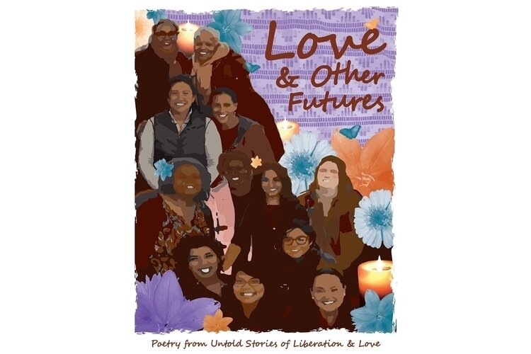 """Love and Other Futures"" cover art."