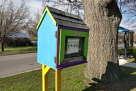 The New West Willow Neighborhood Association will be converting its Little Free Library to a little free food pantry.