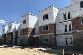 The first phase of construction at Hickory Way Apartments is currently underway, set to wrap up in December.