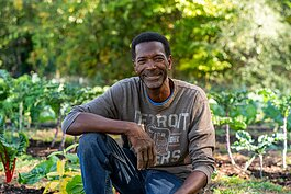 We The People Opportunity Farm founder Melvin Parson.