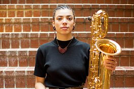 Detroit baritone saxophonist Kaleigh Wilder will open Edgefest's next online performance on Nov. 20.