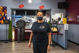 "Cuppy's Best Soulful Cafe owner Andrea ""Cuppy"" White."
