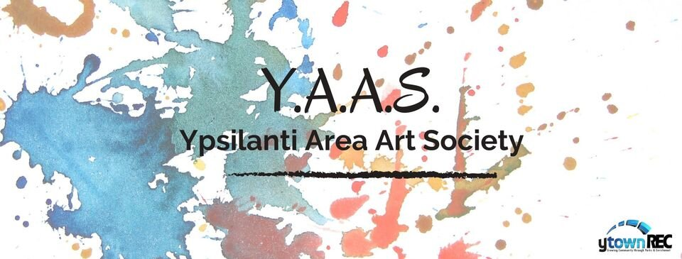 Ypsilanti Area Art Society logo.