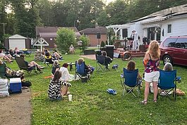 A photo of a recent local concert posted to the Ypsi Live Music Scene group.
