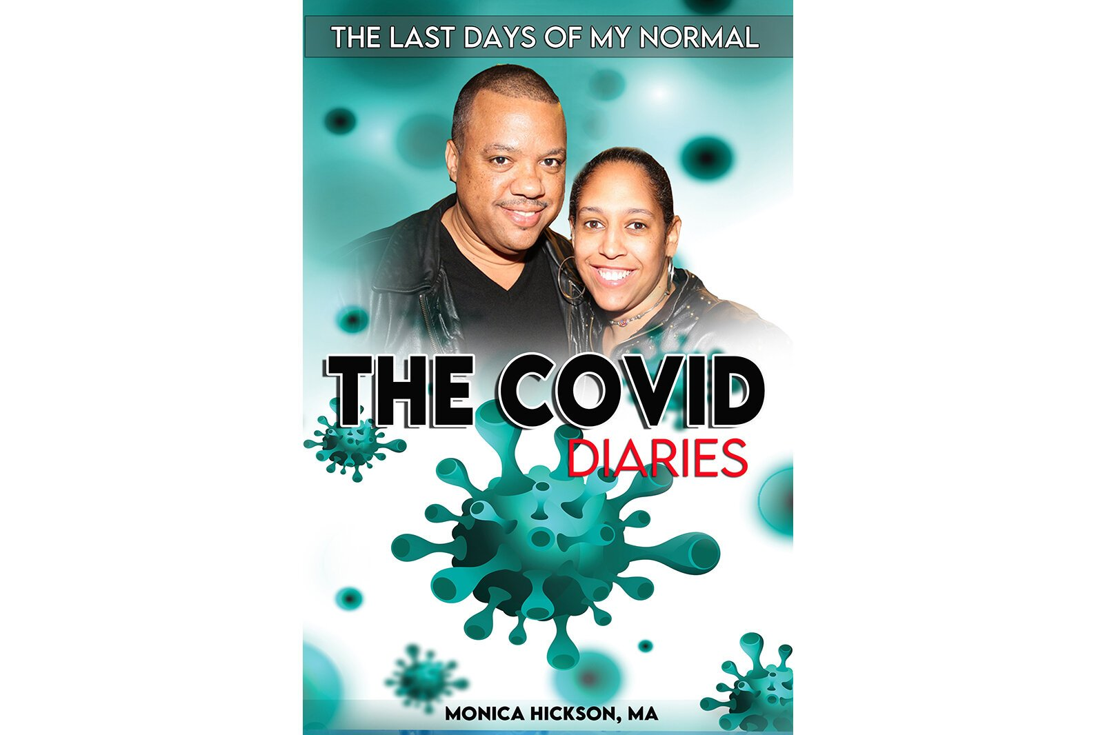 "The cover of ""The Covid Diaries."""