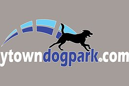 The logo for Ypsilanti Township's dog park.