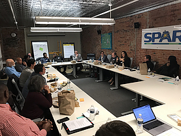 Metromode meets with members of Ypsilanti's entrepreneurial ecosystem.