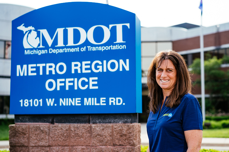 Michele Mueller is senior project manager for CAV at MDOT