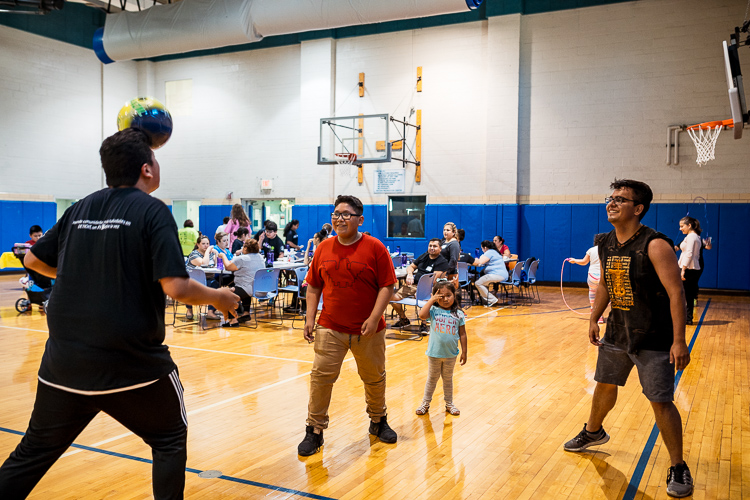 Kids playing at a FitKids360 event