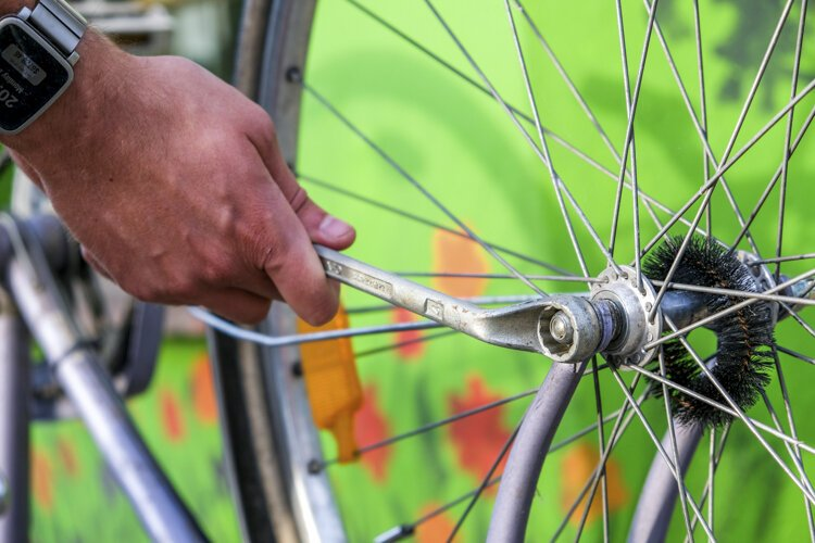 The City of Mt. Pleasant will install bicycle repair stations at three different locations across the city this summer.