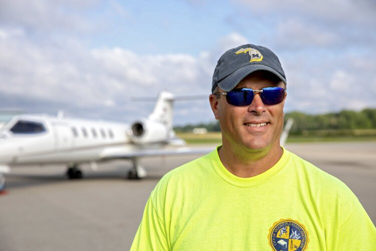 Bill Brickner became manager of the Mount Pleasant Municipal Airport in 2016.