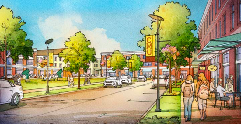 CMURC is now working on finding a developer interested in making the design for the SmartZone District a reality.