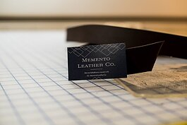 Memento Leather Co. launched in February 2020.
