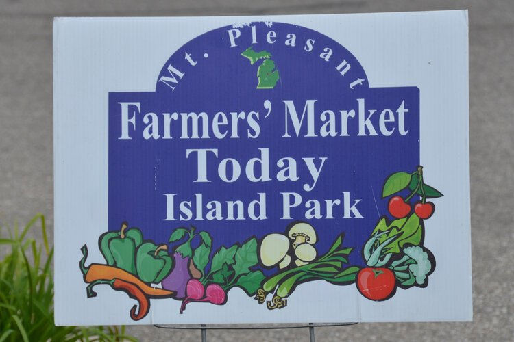The Mt. Pleasant Farmers' Market is open Thursdays from 7:30 a.m. to 2 p.m. at Island Park's South Shelter, and Saturdays from 9 a.m. to 2 p.m. at Town Center.