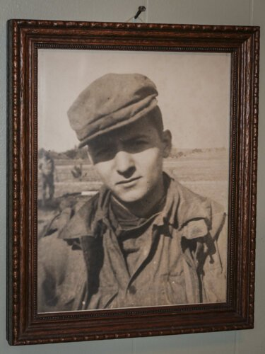 At 17 years old, Ed Haynack enlisted in the Army in 1946.