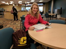 CAP student Holly Lurges