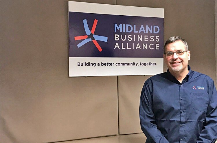 Tony Stamas, president and CEO of the Midland Business Alliance, co-chairs the Midland Business Inclusion Council with Amy Beasley.