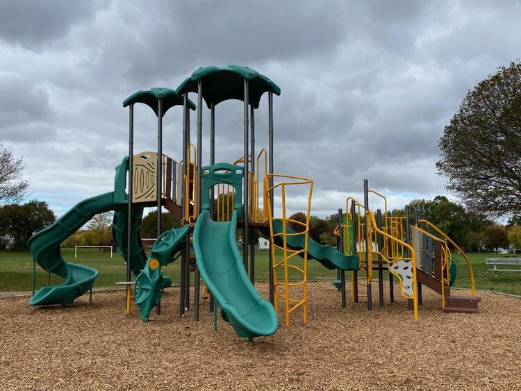 ​​​​​​​New playground structures at Sunnyside Park, shown here, as well as Jamison Park, were made possible through a unique partnership between the City of Mt. Pleasant and Union Township.