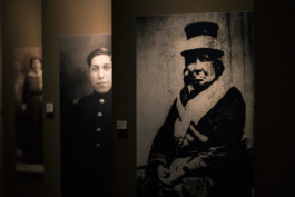 Historical portraits honor Native Americans inside the Effects of Colonization exhibit