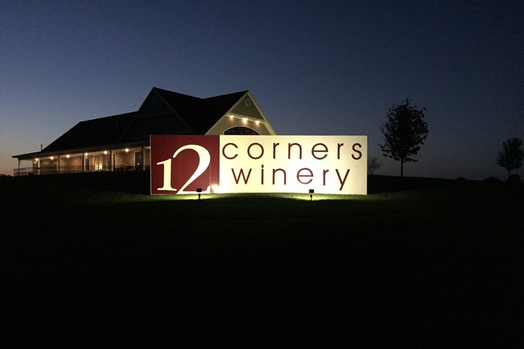 Evening at 12 Corners Winery