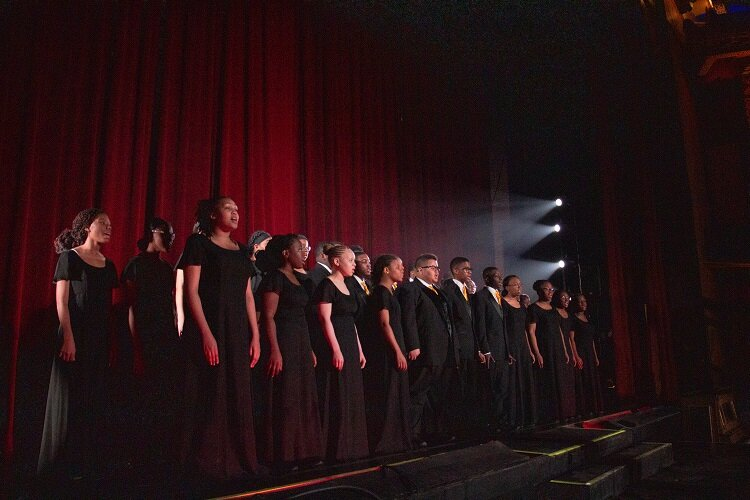 Mosaic Singers in Concert at the Redford Theatre.
