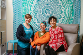 Nicole Marie White, Jahmanna Selassie, and Heather Robinson are all co-founders of DPMC.