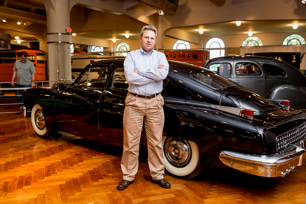 Matt Anderson, curator of Technology for The Henry Ford museum