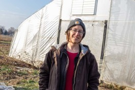 Kelly Vallelunga's Long Valley Farm serves the communities of Battle Creek and Kalamazoo.