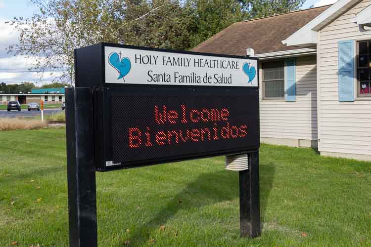 Holy Family Healthcare.