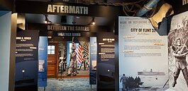 The Armistice Day Storm exhibit at the Port of Ludington Maritime Museum shines a spotlight on the deadliest storm in Great Lakes history.