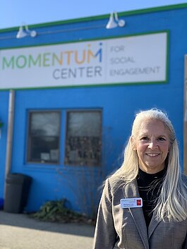 Barbara Lee VanHorssen is the Experi-Mentor (executive director) of the Momentum Center in Grand Haven. The center is part of the (Anti) Racism Task Force.