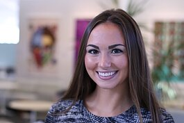 Allie Hopkins is the Associate Manager of Herman Miller Cares.
