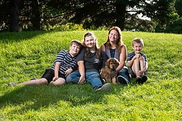 Julie Cadman and her three children will finally move into their Habitat home soon.