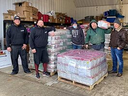 Land O'Lakes donated 10,000 pounds of its dog food to Harbor Humane. The food will serve pets at the shelter, in foster care, and at the pet food pantry.