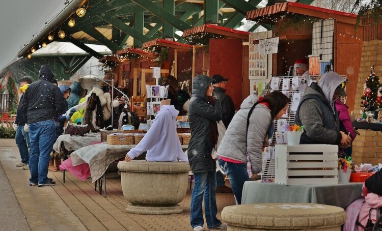 Kerstmarkt, an authentic Dutch Christmas Market, returns to downtown Holland for the holiday season. (Photo taken in 2019)