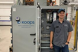 Koops Automation System in Holland is using the state's Going Pro grants to train employees.
