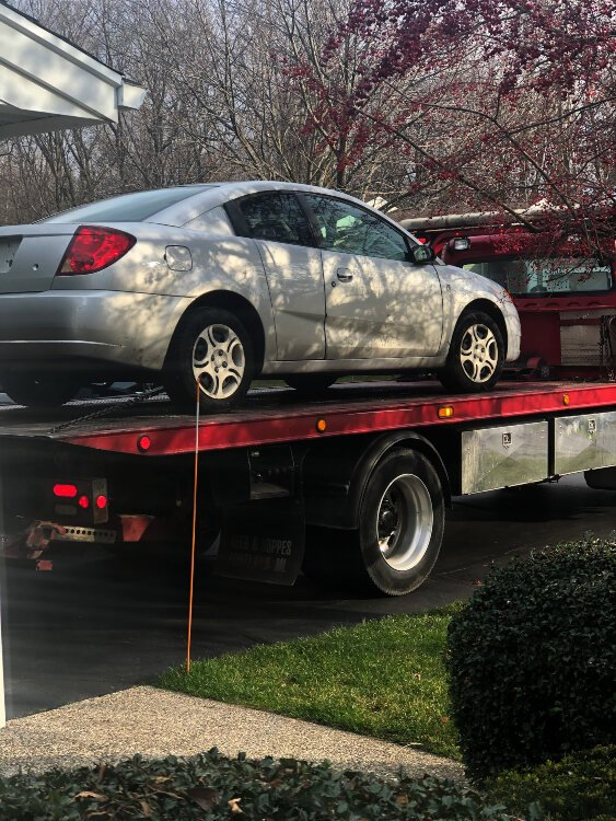 Lucia Rios decided to donate her old car to the Make a Wish Foundation.
