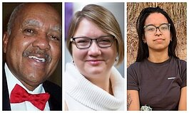 George Barfield, Deanna Rollfs, and Angelica Colon will be the panelists for the first antiracism town hall event.