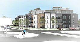 A 133- unit condominium and apartment development is being proposed for downtown Grand Haven.