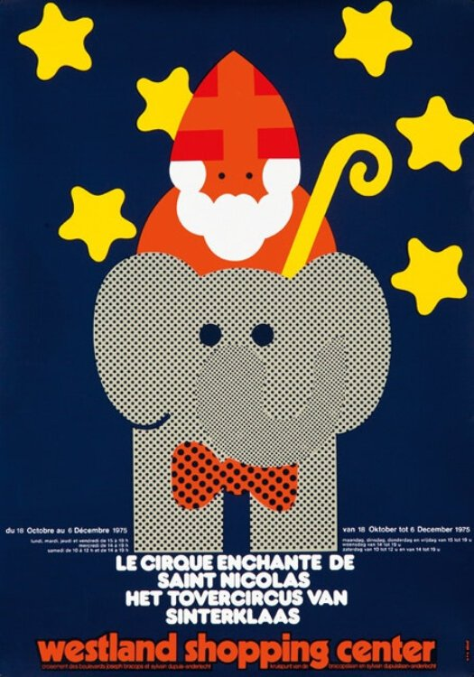 Just for fun—this poster shows a St. Nicholas circus; circuses frequently are held in honor of St. Nicholas in Belgium.