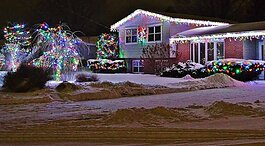 Zeeland Board of Public Works is giving Holiday Power Dollars to customers who decorate the exterior of their home or yard for the holidays.