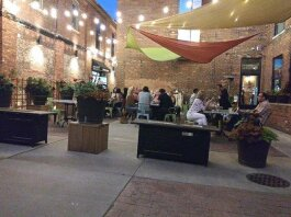 Outdoor Patio at Mint 29 in Dearborn. Photo via Facebook.