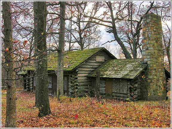 The carriage house at Haven Hill in 2010. Photo courtesy The Haven Hill Project @ Highland Recreation area