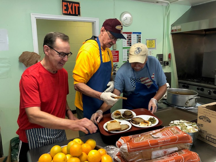 Volunteers donate thousands of hours to help the Baldwin Center fulfill its mission.