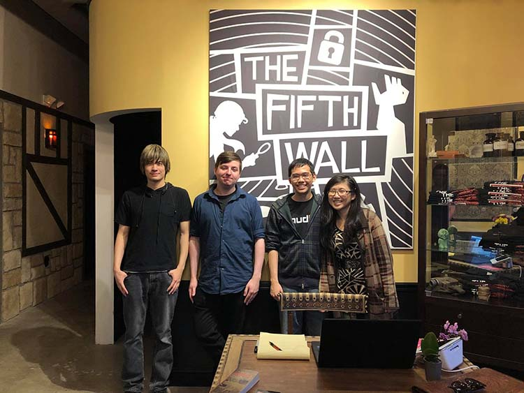 Photo courtesy of the Fifth Wall Escape Rooms.