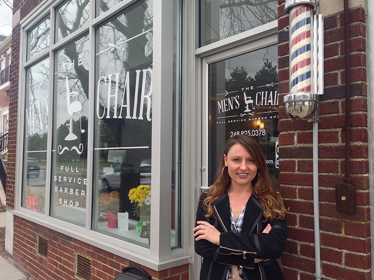 Haircuts Massages And Beer The Mens Chair Opens In Pleasant Ridge